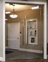 glass entrance systems