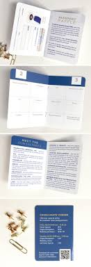 How To Create An Event Program Booklet Passport Program Book For Honors Society Event Custom