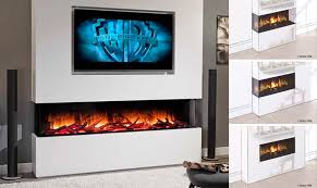 media walls combining a fireplace