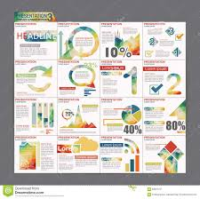 Powerpoint Flyer Template Colorful Infographic Presentation Template Brochure Flyer Design 8
