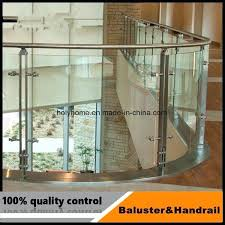 china indoor stainless steel deck black glass railing and stair cost handrail philippines dec