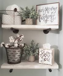 bathroom shelves decor. See This Instagram Photo By @blessed_ranch \u2022 1,396 Likes Bathroom Shelves Decor V