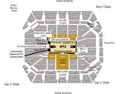 Mizzou Stadium Seating Chart Judgmental Map Of Mizzou Arena