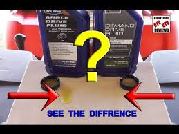 Polaris Lube Specification Chart Difference In Demand Drive Fluid And Angle Drive Fluid