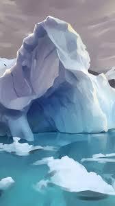 Wallpaper Arctic, iceberg, ice, water ...