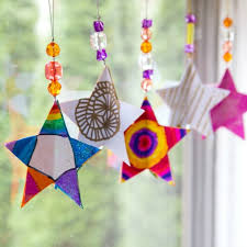3d paper star ornaments tutorial