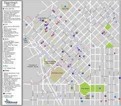 downtown denver colorado tourist map  denver co • mappery