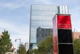 boston university profile rankings