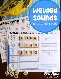 FREE Welded Sounds Spelling Mats | Wilson reading, Free and Phonics