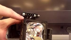Lamp Replacement Sony Wega Lamp Replacement Sony Dlp Bulbs Youtube