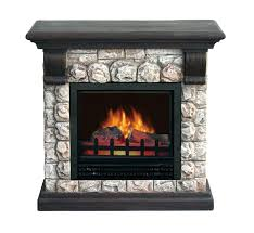 stone electric fireplaces stacked stone electric fireplace heater