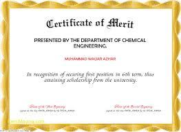 Merit Certificate Sample Awesome Sample Of Certificate Of Merit Samancinetonicco