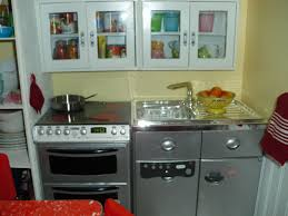Dollhouse Kitchen Furniture Doll House Kitchen View 2 The Cabinets Are From Hobby Lobby The