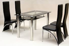 recently dining table lincoln 4 chairs round black glass and beauty vegas with blue ocean interiors