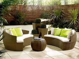rattan garden furniture sets design to choose