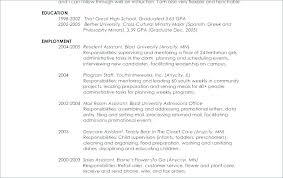 Sample Resume For Graduate School Application Law School Resume