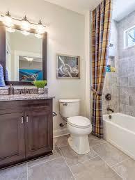 Asheville 1267 Model Home Bathroom .
