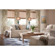 home decorators collection mayfair classic natural fabric arm