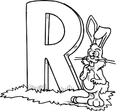 Letter R Printables Preschool Coloring Pages
