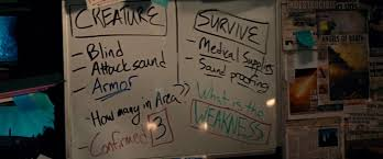 Image result for a quiet place newspapers