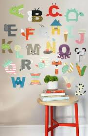 individual letters approx 6 for a room nursery or daycare fully removable and reusable wall decals