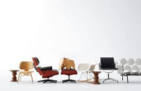 Eames Chair With Ottoman Vitra Miniatures Collection Eamesr Lounge And Ottoman Design