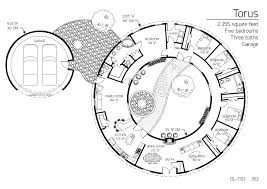 Earthbag Homes Plans Torus And Partial Torus Series Monolithic Dome Institute