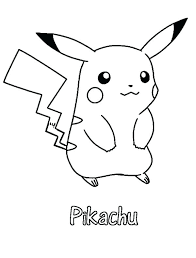pikachu coloring pages printable pictures of pages pokemon pikachu coloring pages printable