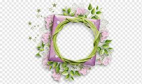 flor roxo fl redondo quadro