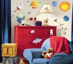 Kidspace Bedroom Furniture Tidy Kids Bedroom Solar System Kids Boys Space Rocket Outer Space