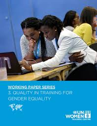 1 Working Paper Series – Un Women Training Centre