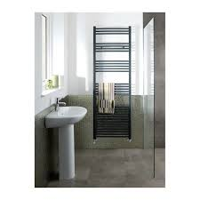 Eastbrook Wendover Straight Anthracite Towel Rail 1800mm High x