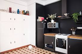Home Renovation: Black Walls in the Kitchen / No Glitter No Glory / Pitch  Black ...