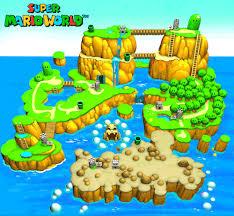 Image Result For Super Mario World Custom Map Super Mario