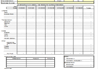 Expense Report Spreadsheet Template (2) | Professional And High ...