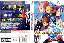 Arc Rise Fantasia Dvd Ntsc Custom F Wii Covers Cover