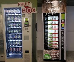 Fruit Vending Machines Extraordinary Introducing Healthy Food Options Into The Vending Machine Product