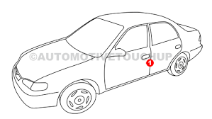 2012 Lexus Color Chart Lexus Paint Code Locations Touch Up Paint Automotivetouchup