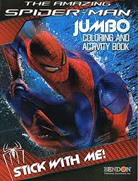 Coloring spiderman can be a little tough because there are a lot of intricacies in his appearance. Amazon Com Spider Man Coloring Activity Book Cover Art May Vary Toys Games