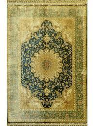turkish silk rug 5 7 x 8 0 hand made zar03173