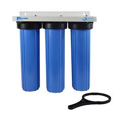 whole house water filter cartridge. 3 Stage Big Blue Whole House Water Filtration System With 20 Inch PP Sediment, Activated Carbon And Block Filter,1\ Filter Cartridge