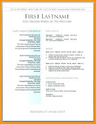 Resume In Word Format Download Free Download Templates Word 3 Simple ...