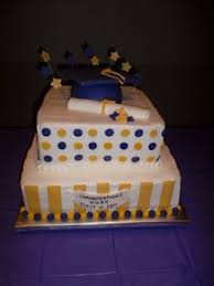 Purple And Gold Graduation Cake Purple And Gold In 2019 High