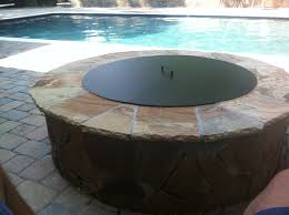 fresh 36 inch round fire pit grate fire pit cover metal fire pit grill ideas