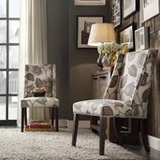 inspire q geneva grey fl wingback hostess chairs find this pin and more on dining room