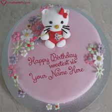 Happy Birthday Cake Sister Name Birthdaycakeformancf