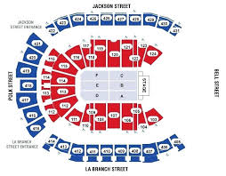 Toyota Center Detailed Seating Chart Toyota Center Seating Map Getthetruthonline Info