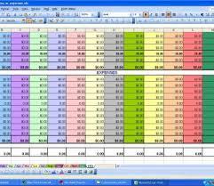Monthly Expenses Spreadsheet Household Budget Uk Pdf Easy Free