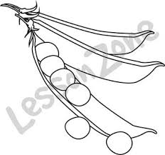 peas clipart black and white. Plain White With Peas Clipart Black And White E