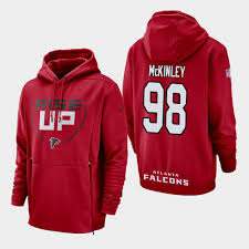 Red - Ridley Falcons Sideline Hoodie Lockup Men's Calvin